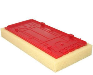"RTC Products WBRSC 5"" x 11"" Replacement Tile Grout Sponge Small w-Cuts"