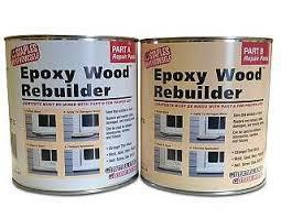 Hf Staples Epoxy Wood Rebuilder 16 oz