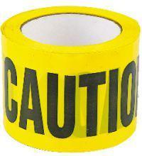 Caution Tape 3 Inch x 1000'