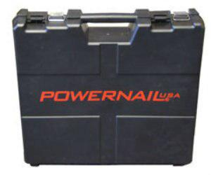 Powernail Toolbox Large Plastic Carrying Case for Pneumatic Nailers