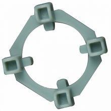Bulls Eye Clearview Tile Spacers 1-8 in and 1-4 in 50 per box