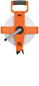 Keson OTR1810165 165 Ft. Ft, In, 1-8 And Ft, 1-10, 1-100 Fiberglass Tape Measure With Hook