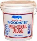 Woodwise Full Trowel Filler 3.5 Gallon White