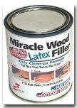 Miracle Wood Latex Filler 16 oz