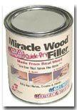 Miracle Wood Quick Dry Wood Filler 1-4 Lb