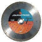 Barwalt 70408 Journeyman Wet Continuous Rim Ceramic Tile Blade 7 Inch