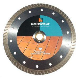 Barwalt 70425 Barwalt Continuous Rim Turbo Ceramic Tile Cutting Blade 7 Inch
