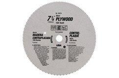 Midwest Snips MW-26370 7-1-4 In Wood - Vinyl Circular Saw Blade 150 Teeth