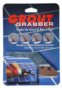 Grout Grabber Kit (Adapter & 1 blade) Grout Removal Sawzall Accessory