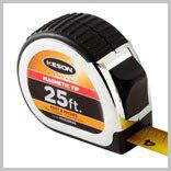 Keson PG1825 25' x 1 inch Measuring Tape FT, 1-8, 1-16