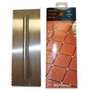 Barwalt 31332 Ultralife Notched Trowel Blade #33 Left Hand