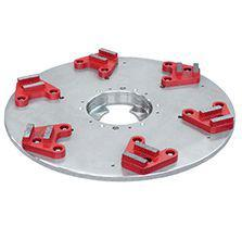 "Lagler P1550 16"" Single Floor Buffer MCD Diamond Disc (red)"