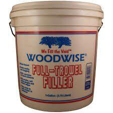 Woodwise FT801 Full Trowel Wood Filler White Gallon