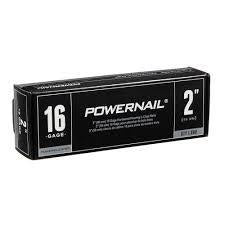 "Powernail L20016 16 Gage 2"" Powercleats (1,000-box)"