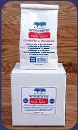 Woodwise PQ401 No Shrink Patch Quick Knot Brown Wood Filler -1-1-2 Lbs