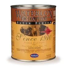 Waterlox TB6035G Original Satin Finish - Gallon 350 VOC