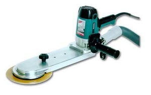 "Makita Floor Sanding Radiator Toekick Edger 5"" and 7"" pad with 13"" Nose"