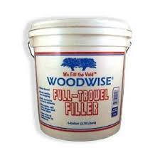 Woodwise Full Trowel Wood Filler Maple-Ash-Pine Gallon