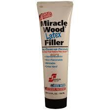 Miracle Wood Latex Filler 3-½-fl. oz. tube - 3 Pack