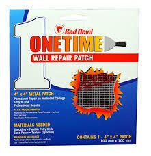 "Red Devil 1216 6"" x 6"" Wall Repair Patch"