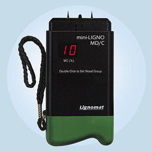 Lignomat MD-1 mini-Ligno MD-C Pin Moisture Meter with pins and connector