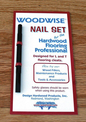 Woodwise NS006 Flooring Cleat Nail Set