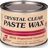H.F. Staples Clear Bowling Alley Paste Wax (4-lb)