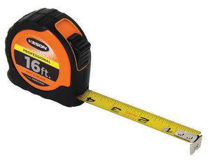 Keson PGPRO1816V 16' x 1 inch Measuring Tape  FT, 1-8, 1-16 Pro Case