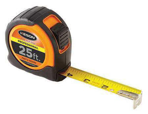 Keson PGPRO1825V 25' x 1 inch Measuring Tape  FT, 1-8, 1-16 Pro Case