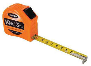 Keson PGT18M10V 10' x 5-8 inch Measuring Tape FT, 1-8, 1-16 & CM, MM