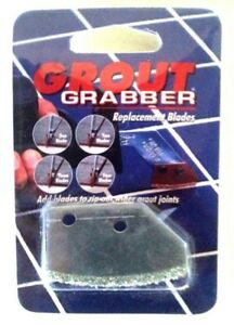 Tile Grout Grabber Carbide Blades