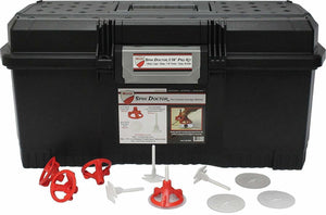 "RTC Products SD116KIT Spin Doctor 1-16"" Pro Tile Kit (200 Caps, 500 1-16"" Threaded Posts, 100 Clear View Shields included in tool box)"