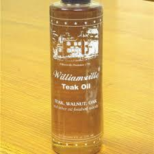 Williamsville Teak Oil  16.oz