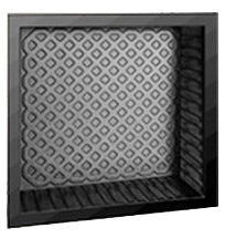 "Shower Quick Shelf Square 13""W x 13""H x 3-1/2""D"