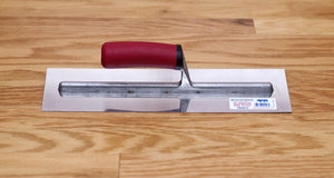 "Woodwise Stainless Steel Smooth Edge Trowel 14"" x 4"""