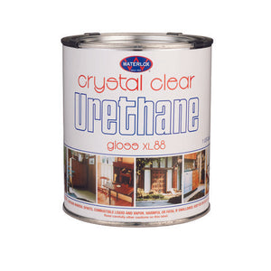 Waterlox TB4252Q Clear Urethane XL-88 Gloss Quart