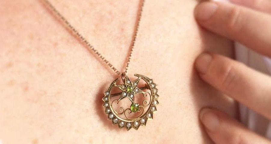 how to wear a brooch as a pendant | as a necklace