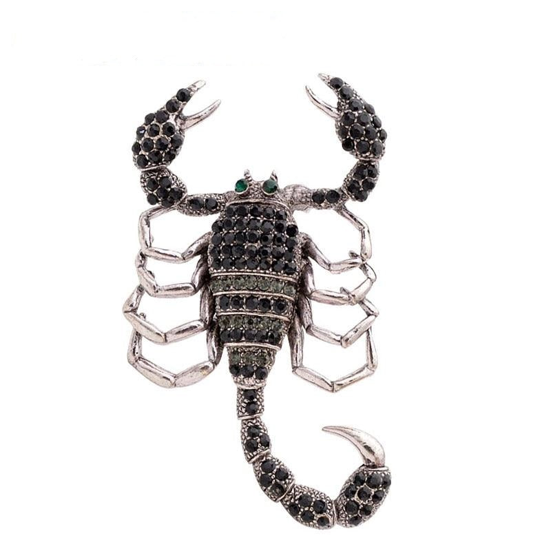 Black Scorpion Brooch | Brooch Paradise