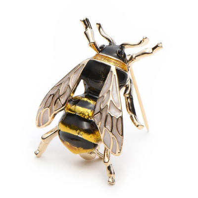 Bumble Bee Brooch Pins | Brooch Paradise