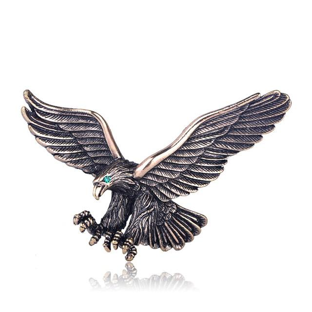 Eagle Brooch - Gold Color | Brooch Paradise