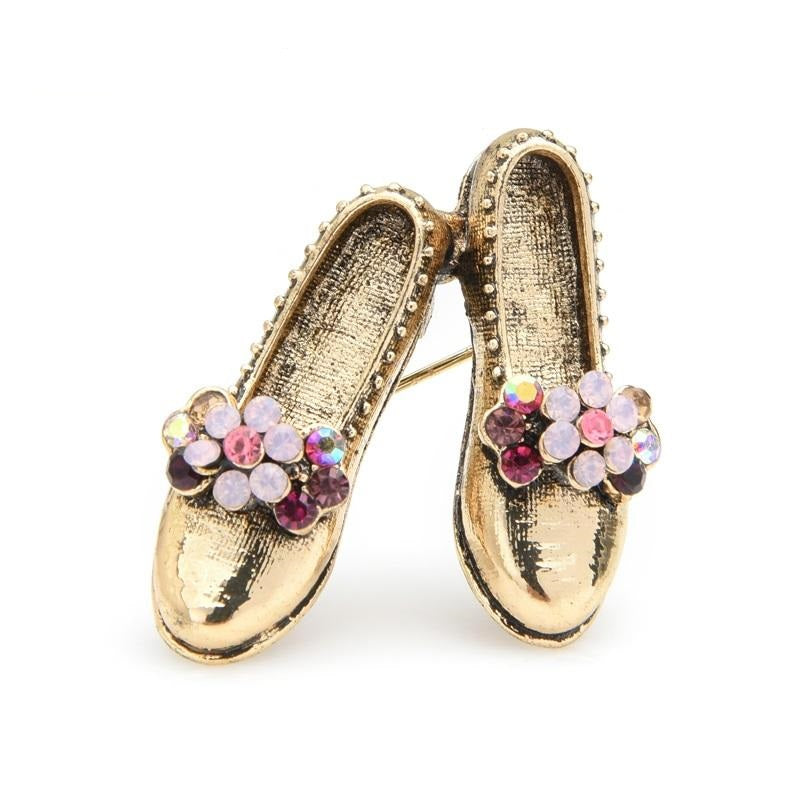 Shoes Brooch - Style Ballerina | Brooch Paradise