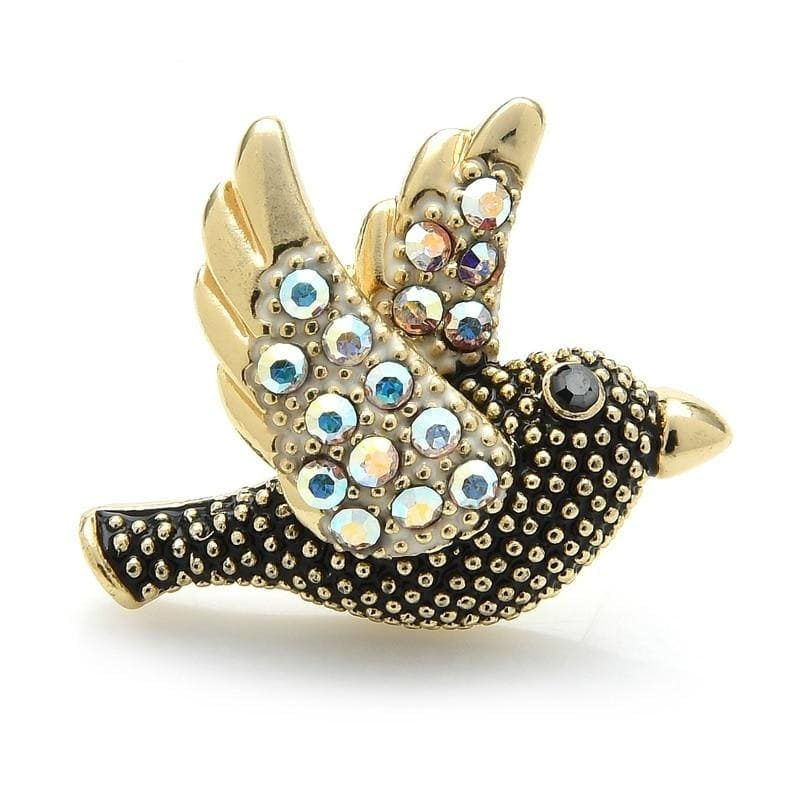 White Pigeon Brooch | Brooch Paradise