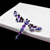 Dragonfly Brooch - Purple | Brooch Paradise