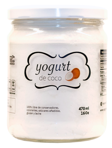 Yogurt de Coco - 470ml