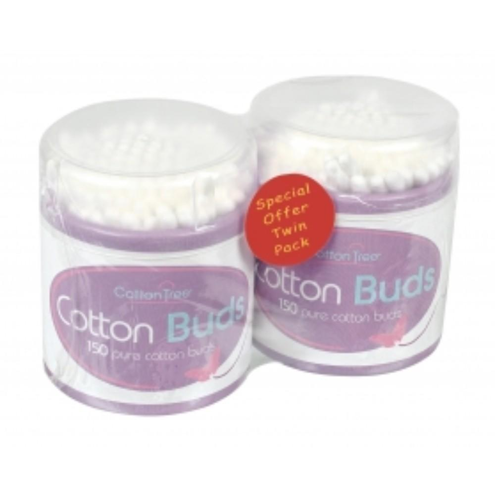 Cotton Buds Drums (2 Pack)