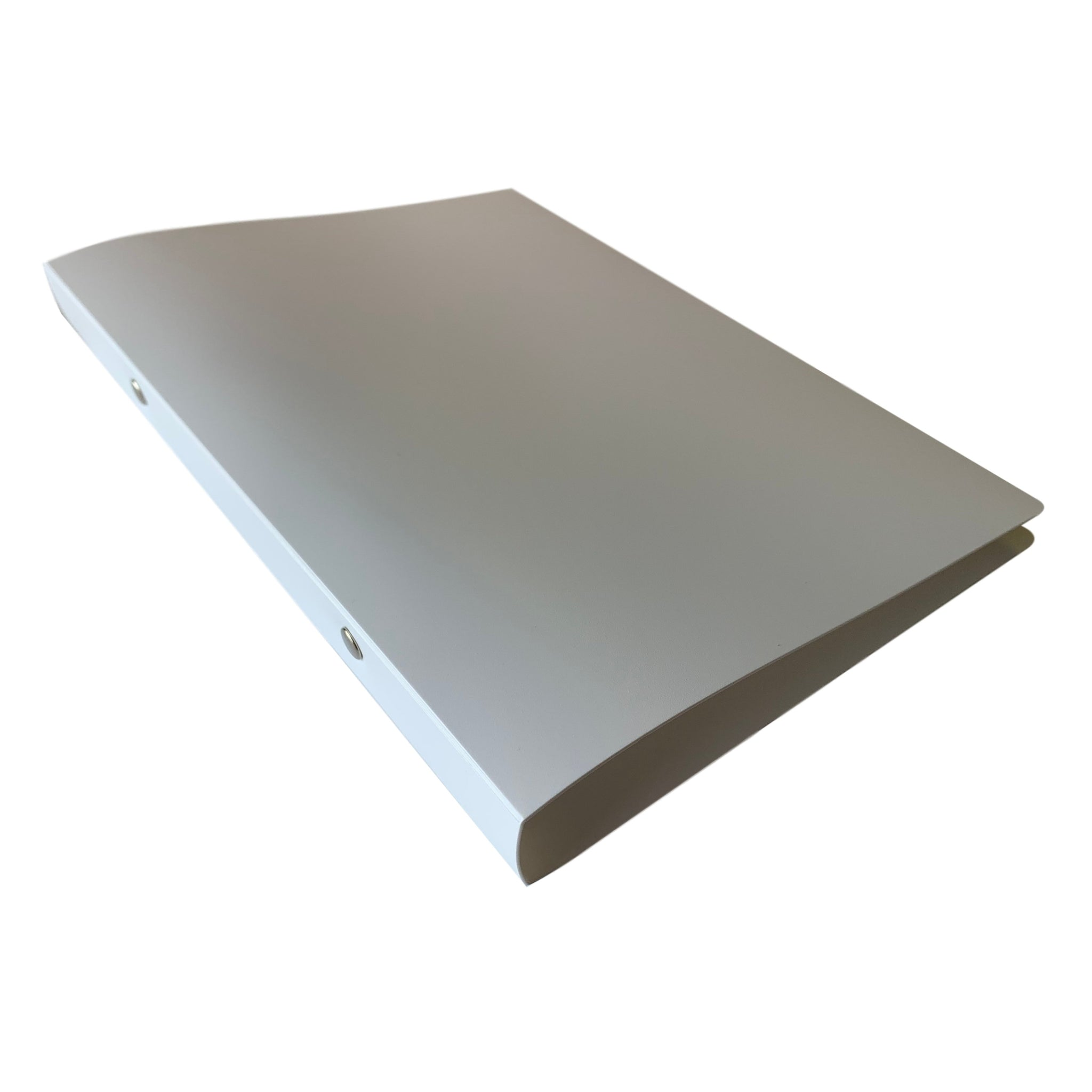 A5 White Ring Binder by Janrax