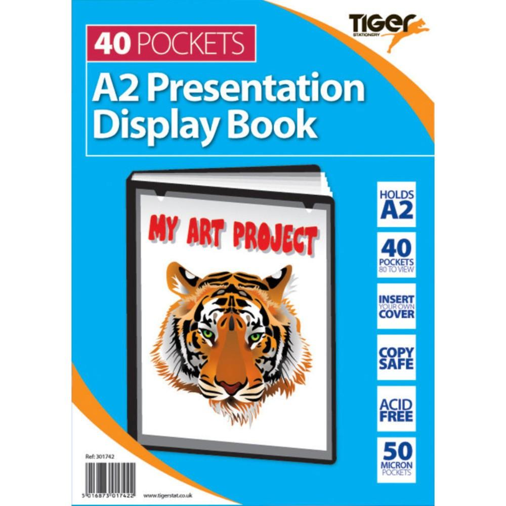 A2 40 Pocket Presentation Display Book