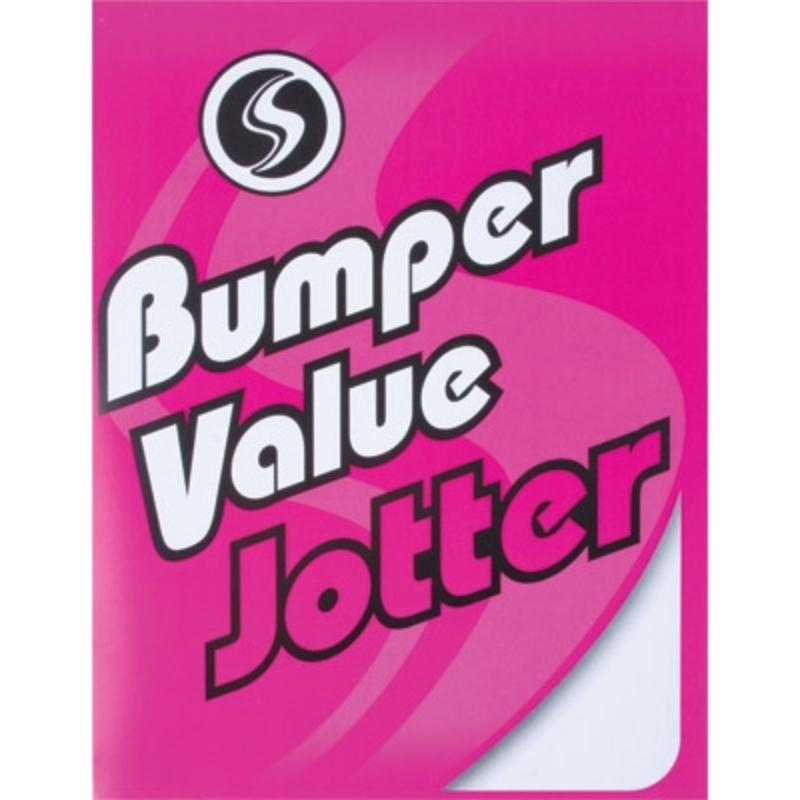 Super Value Bumper Jotter