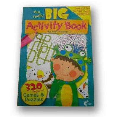Activity Book 300 Pages