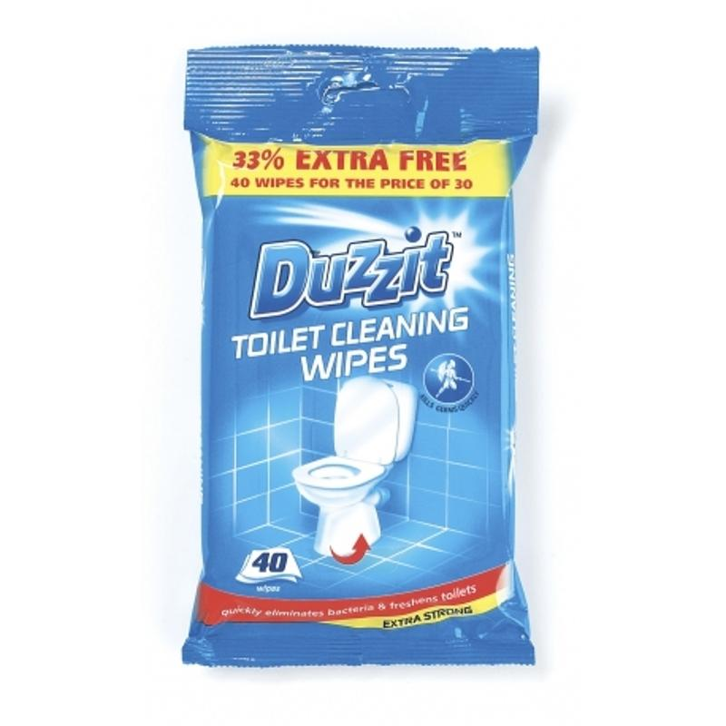Duzzit Toilet Cleaning Wipes